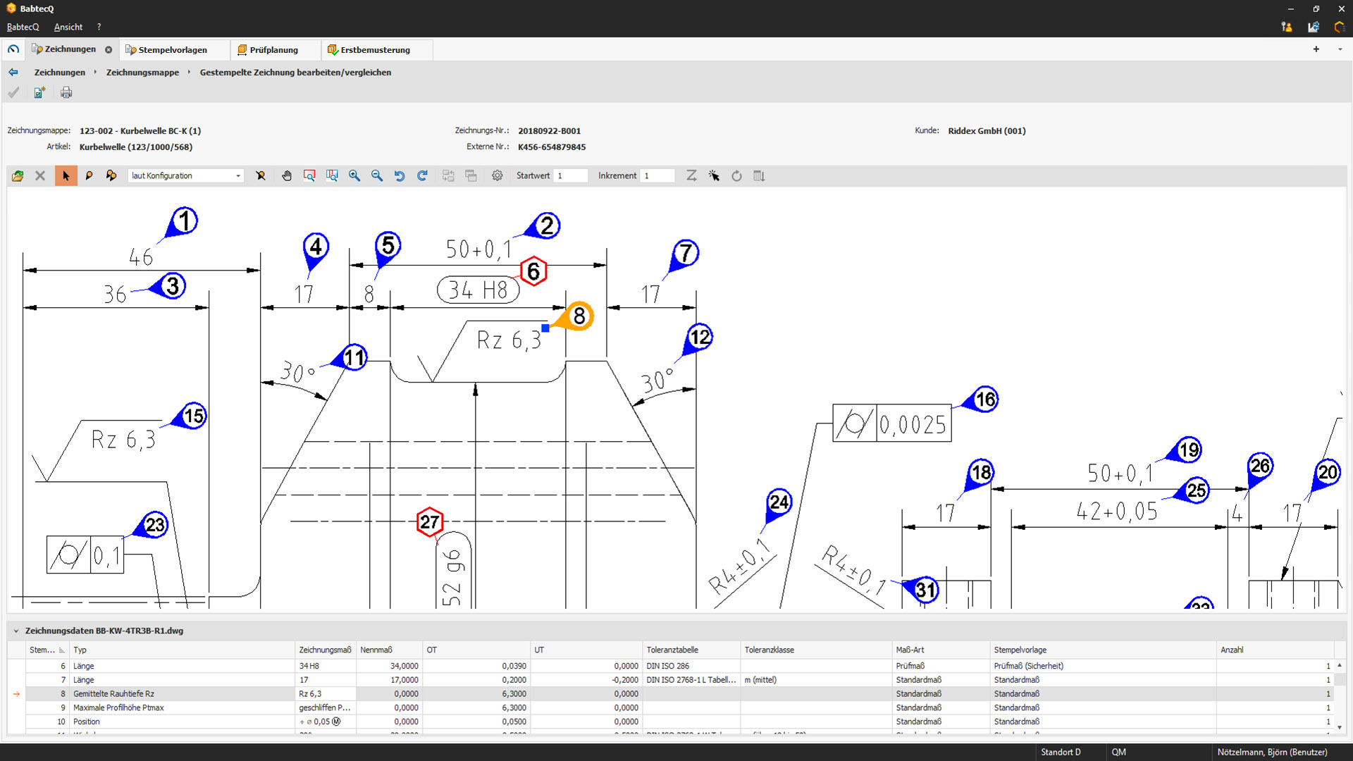 CAD-Integration in BabtecQ