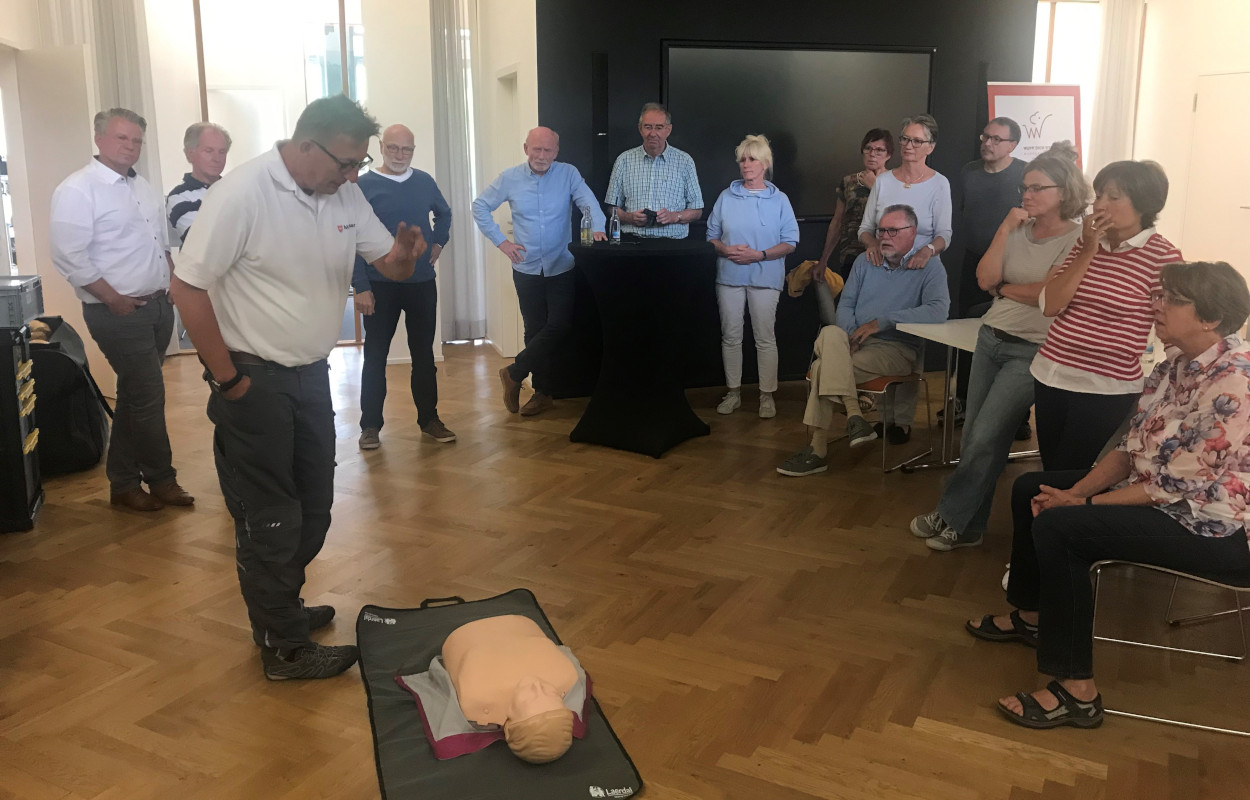 First Aid Training at Babtec