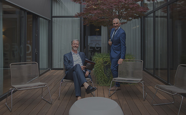The Managing Directors of Babtec Informationssysteme GmbH Michael Flunkert and Waios Kastanis