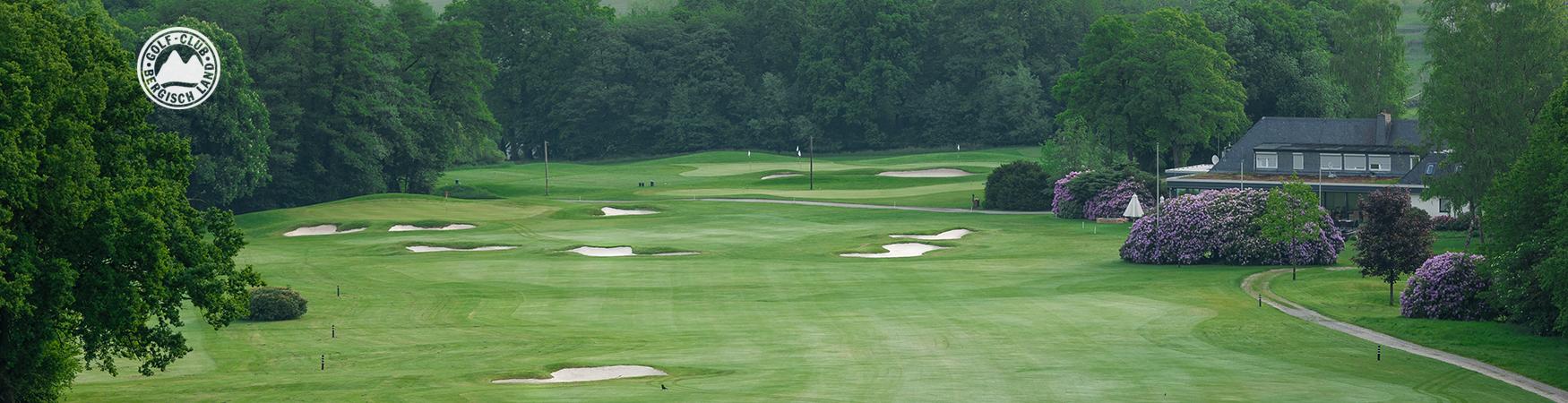 Golfplatz und Turnier